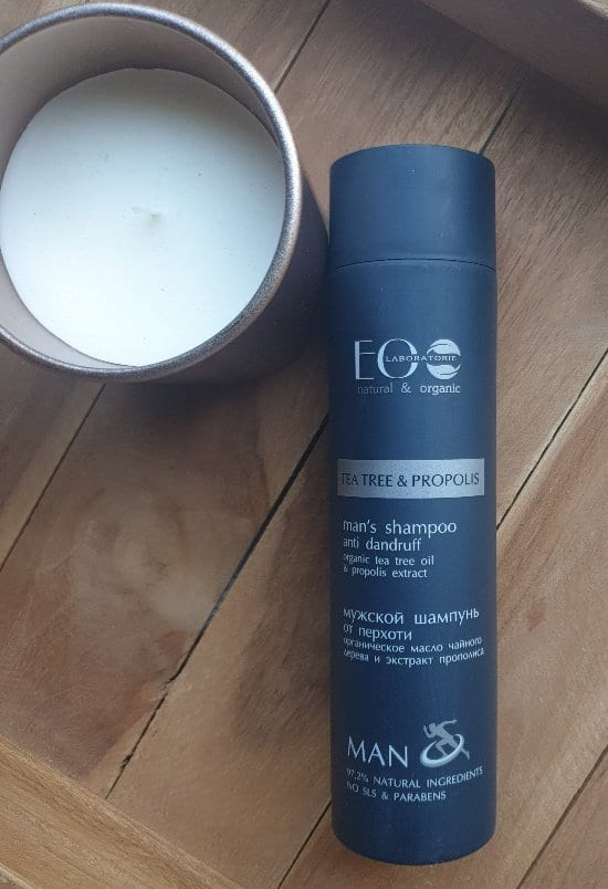 Anti-roos shampoo voor mannen, Eolab, 250 ml